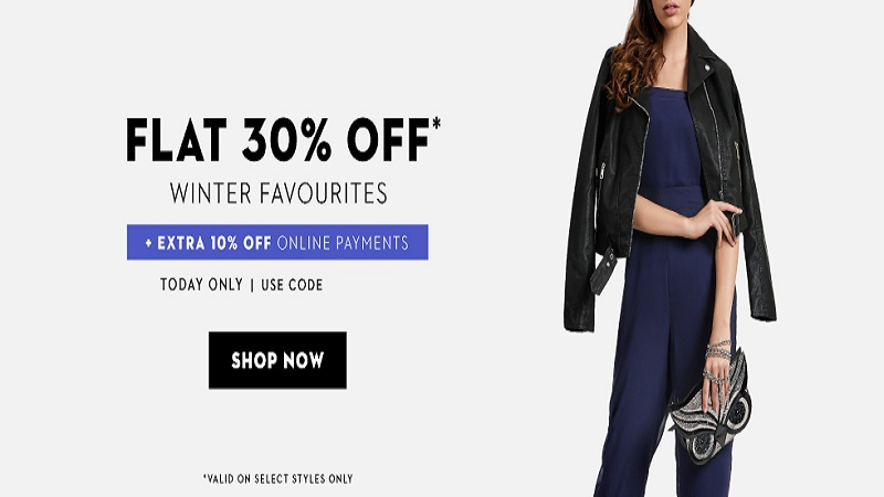 Koovs women winter Sale