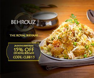 Behrouz Biryani Offers Today