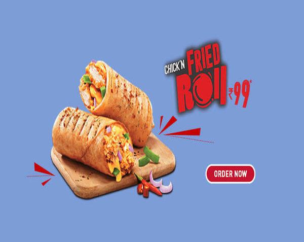KFC Chicken Fried Roll